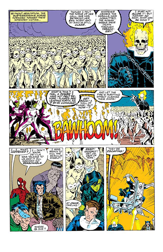 click for super-sized previews of Fantastic Four (1961-1998) #349