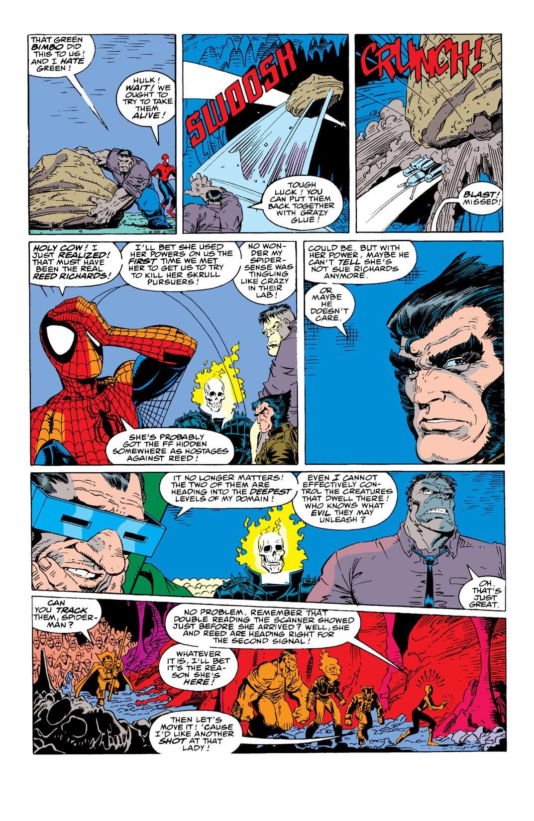 Fantastic Four (1961-1998) #349