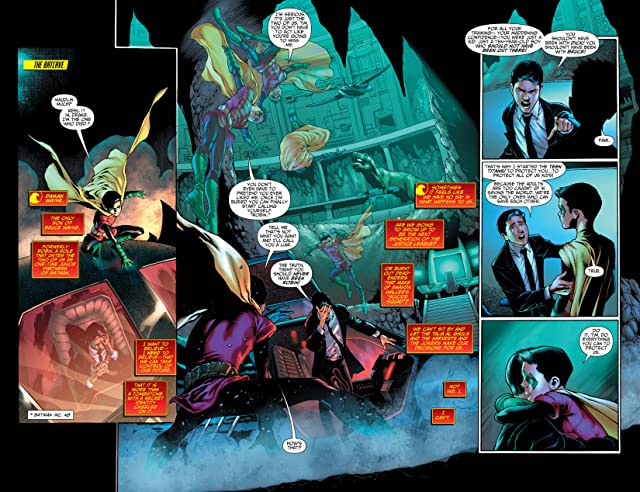 click for super-sized previews of Teen Titans (2011-2014) #18