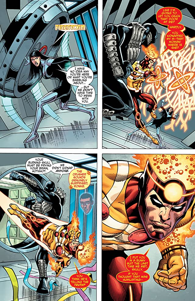The Fury of Firestorm: The Nuclear Men (2011-2013) #18