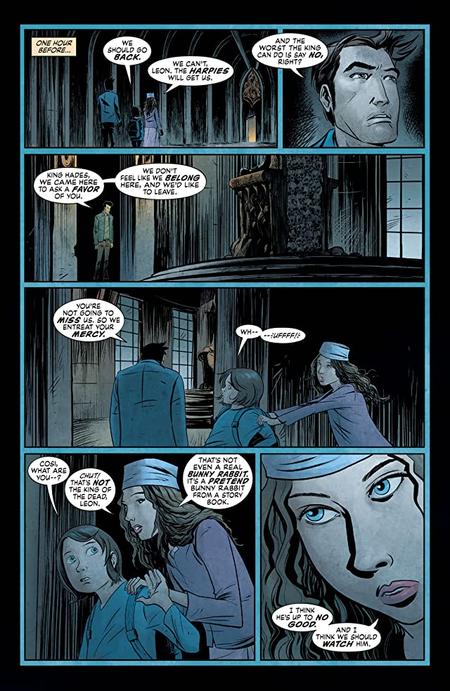 click for super-sized previews of The Unwritten #47