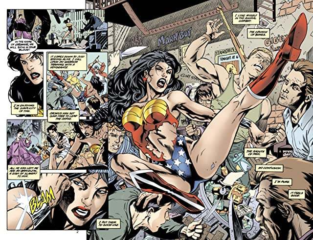click for super-sized previews of Wonder Woman (1987-2006) #148