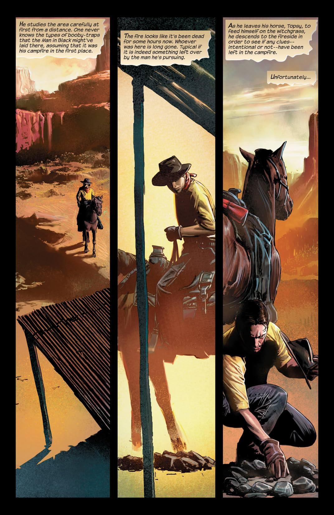 Dark Tower: The Gunslinger - Evil Ground #1 (of 2)