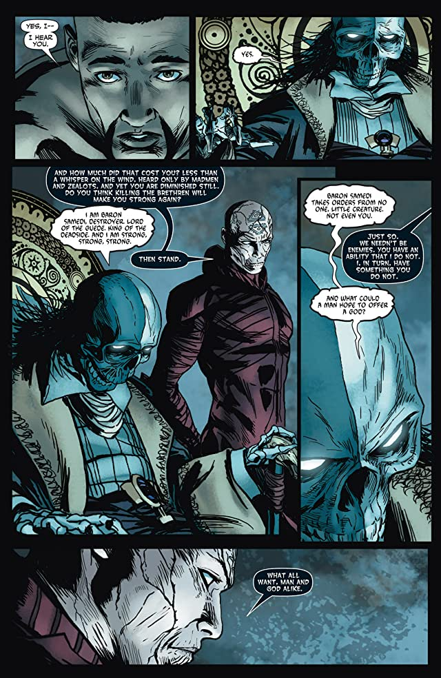 click for super-sized previews of Shadowman (2012- ) #6: Digital Exclusives Edition