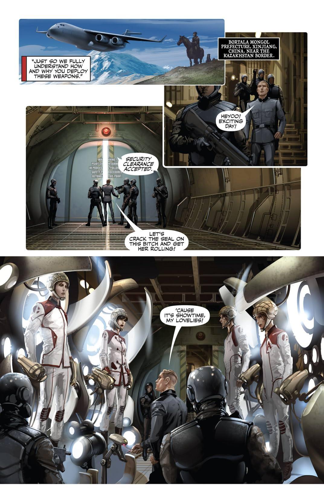 Harbinger Wars #1 (of 4): Digital Exclusives Edition