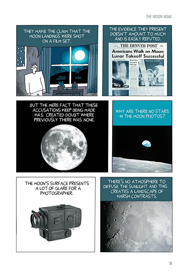 click for super-sized previews of How to Fake a Moon Landing: Exposing the Myths of Science Denial