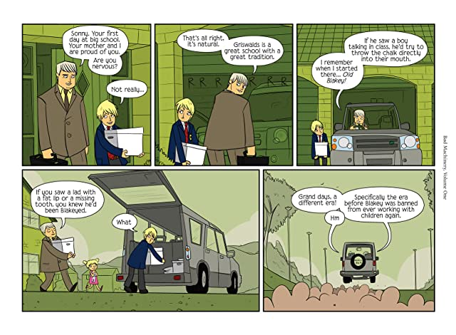 Bad Machinery Vol. 1: Case of the Team Spirit Preview