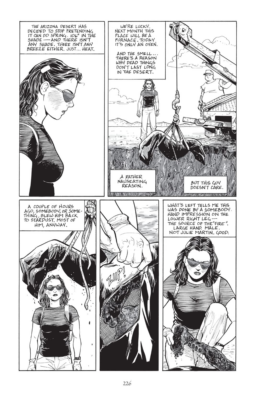 Terry Moore's Echo #12