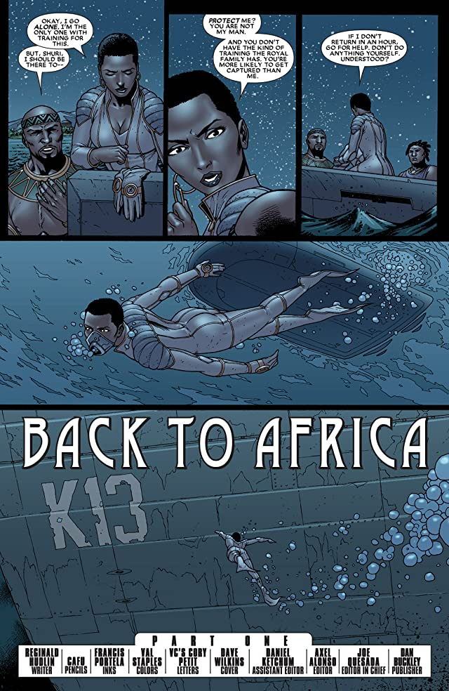 click for super-sized previews of Black Panther (2005-2008) #35