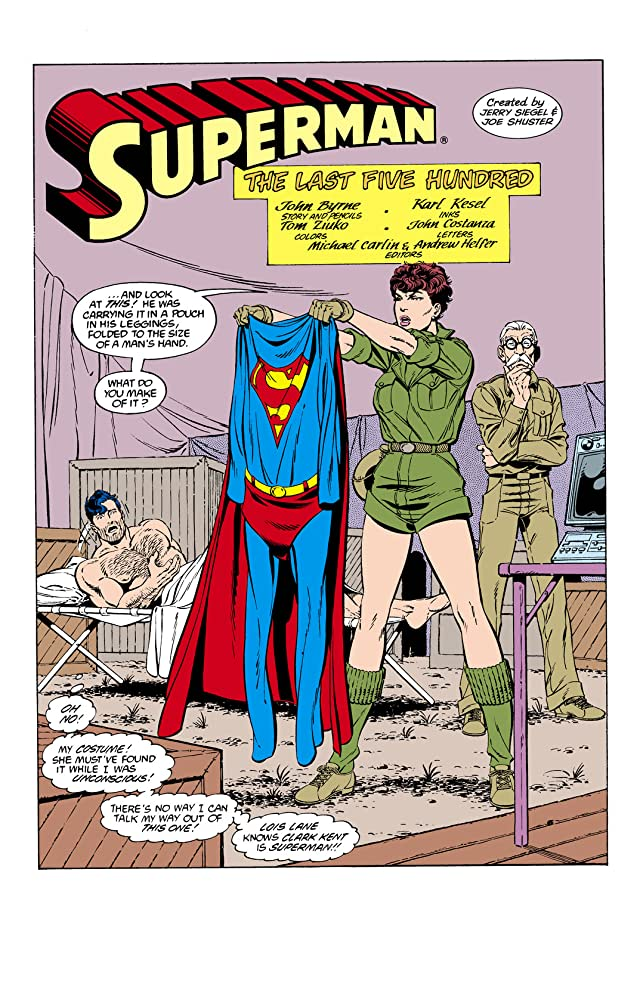 click for super-sized previews of Superman (1987-2006) #6