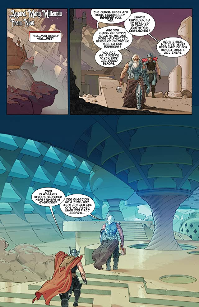 click for super-sized previews of Thor: God of Thunder #7