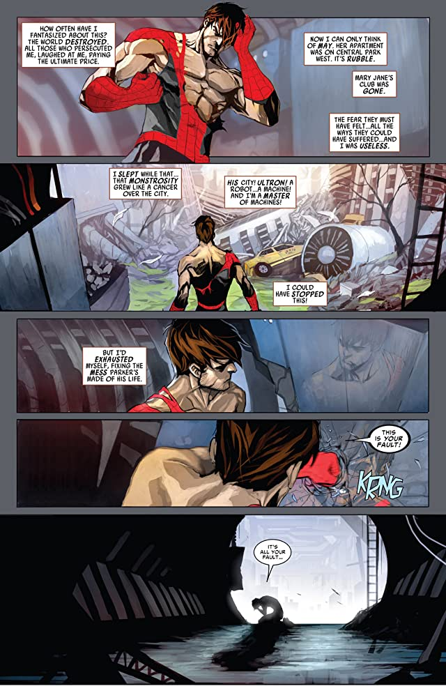 click for super-sized previews of Superior Spider-Man #6AU