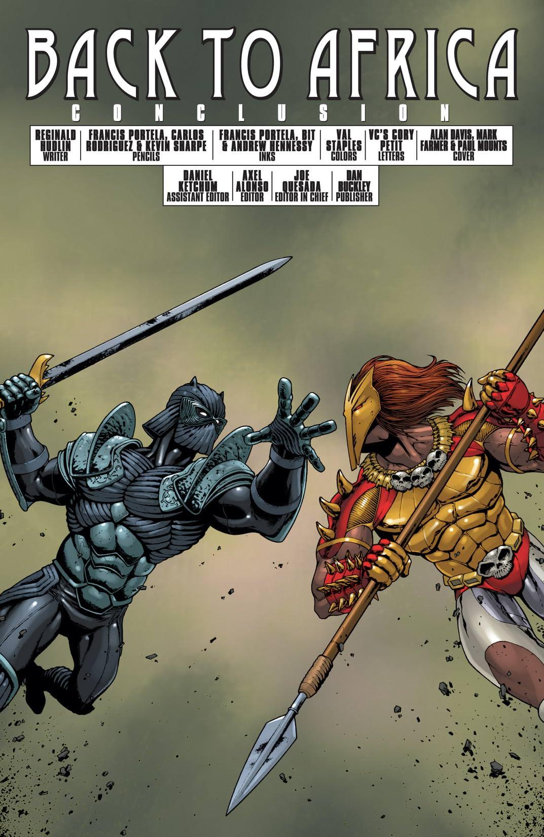 Black Panther (2005-2008) #38