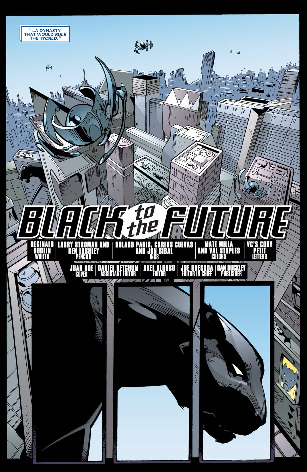 Black Panther (2005-2008) Annual #1