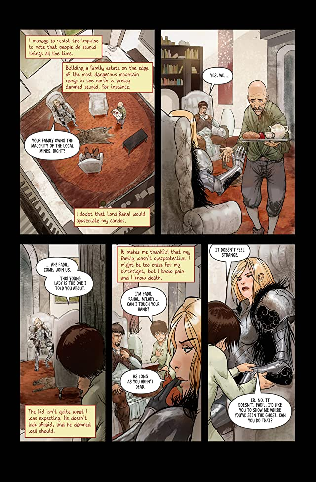 click for super-sized previews of The Black Hand #2: Preview