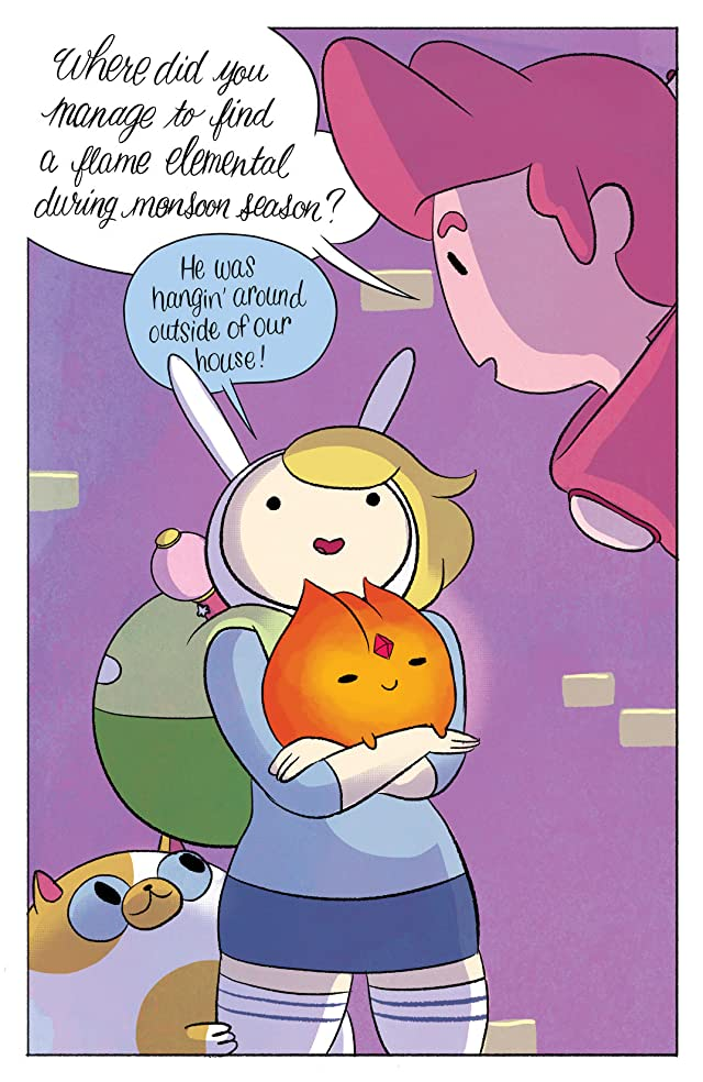 click for super-sized previews of Adventure Time: Fionna & Cake #4