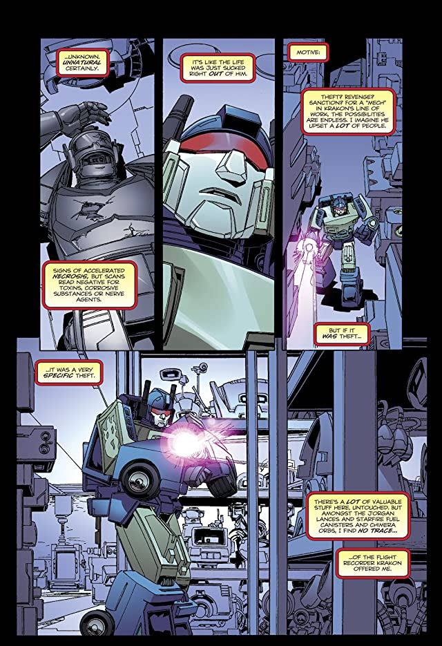 click for super-sized previews of Transformers: Spotlight - Nightbeat