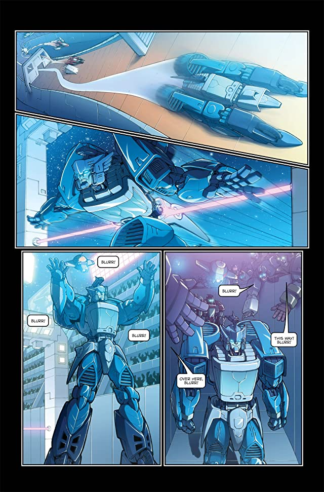 click for super-sized previews of Transformers: Spotlight - Blurr