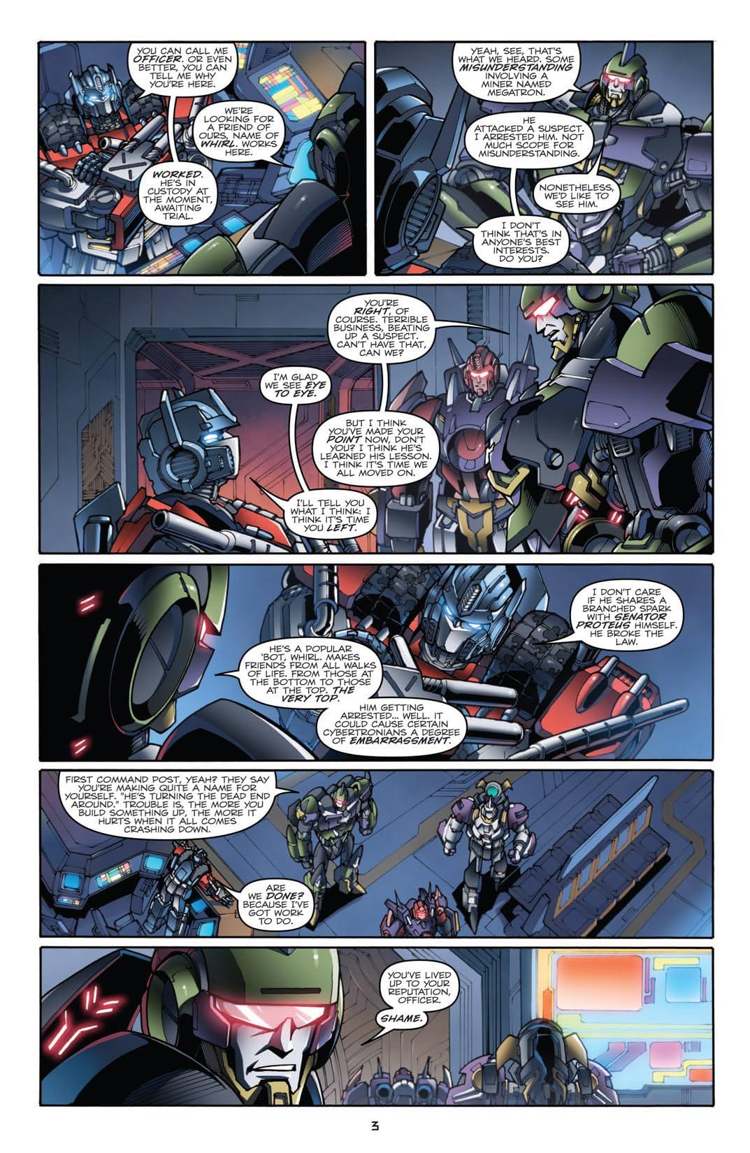Transformers (2010-2011) #23