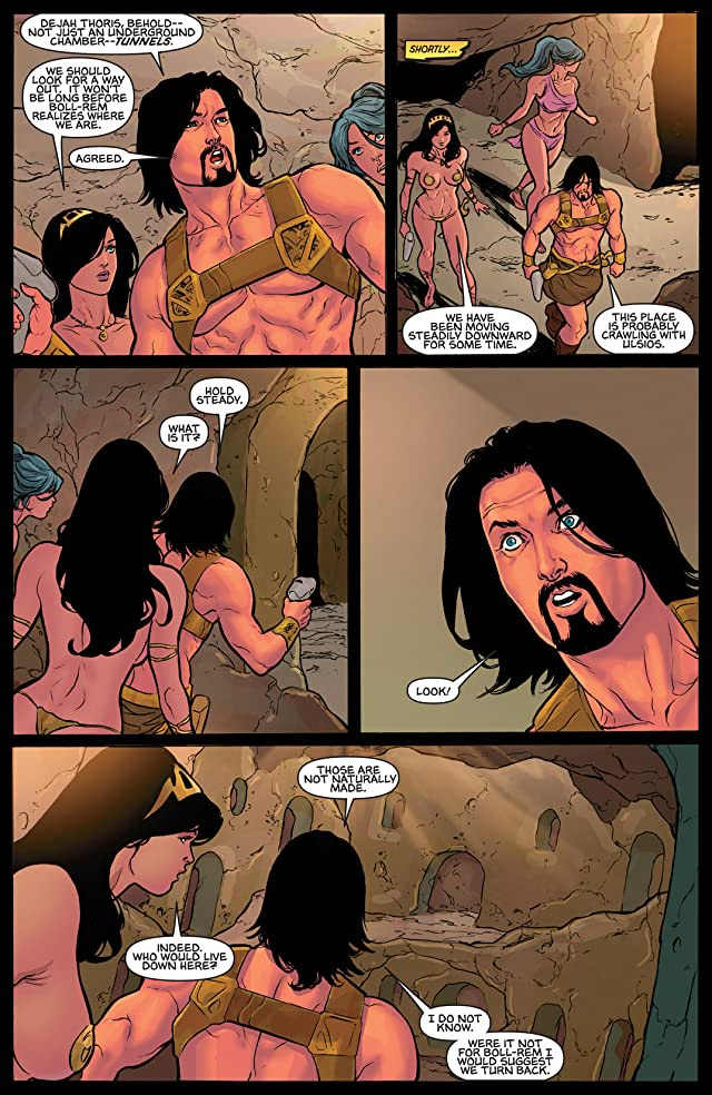 click for super-sized previews of Warlord of Mars: Dejah Thoris #24