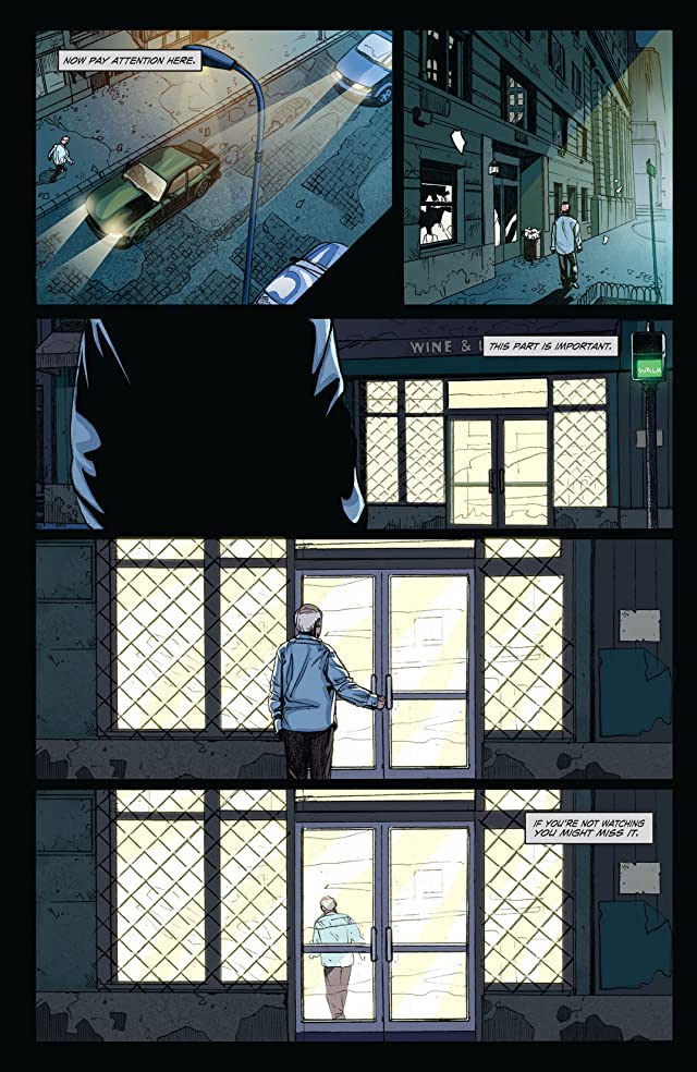 click for super-sized previews of The Waking #1