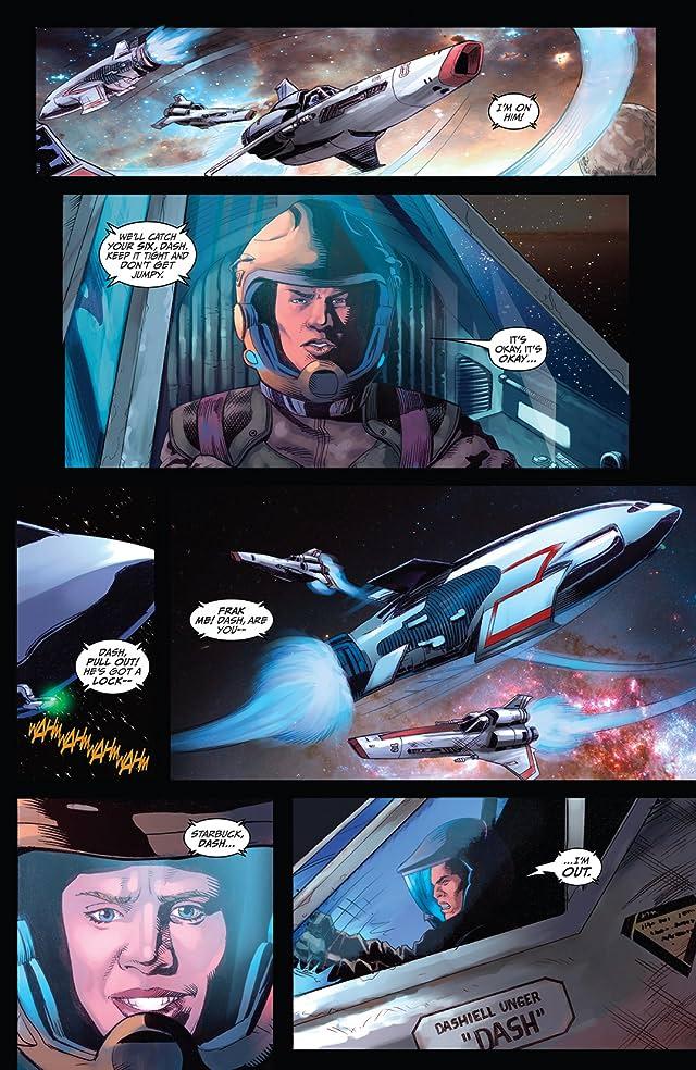 click for super-sized previews of Battlestar Galactica: Season Zero #3