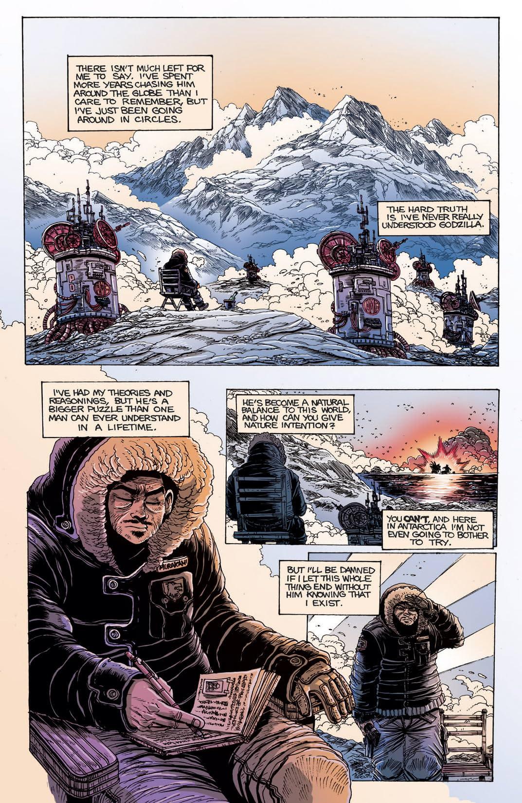 Godzilla Half Century War #5 (of 5)
