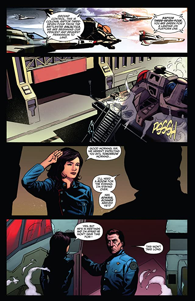 click for super-sized previews of Battlestar Galactica: Season Zero #7