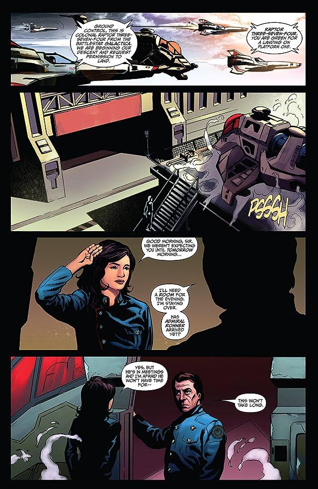 click for super-sized previews of Battlestar Galactica: Season Zero #7