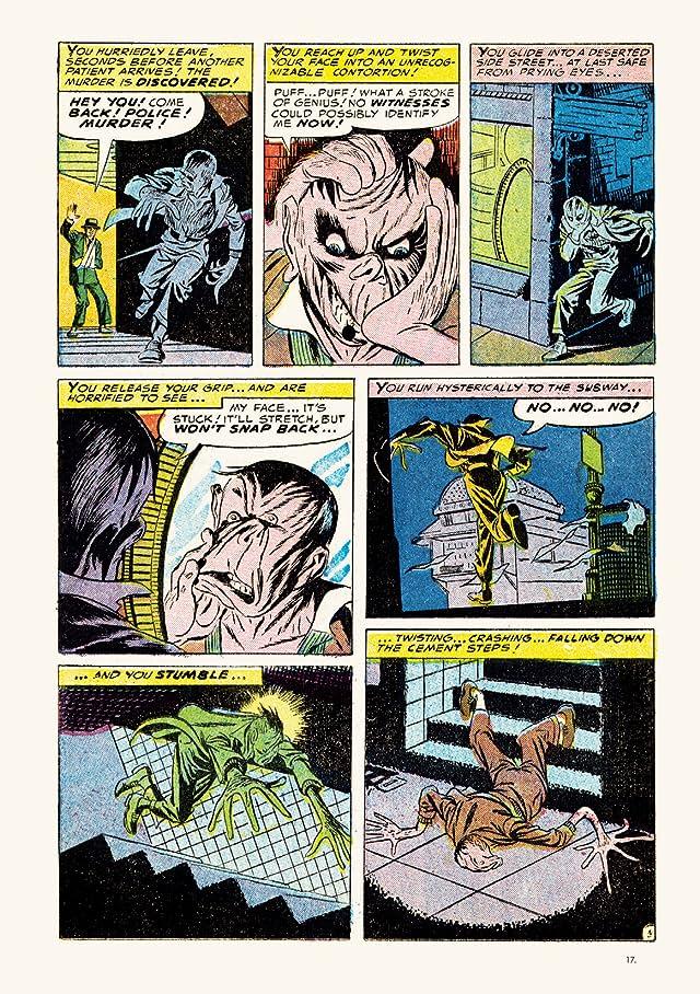 click for super-sized previews of Steve Ditko Archives Vol. 1: Strange Suspense