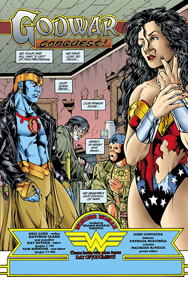 click for super-sized previews of Wonder Woman (1987-2006) #150