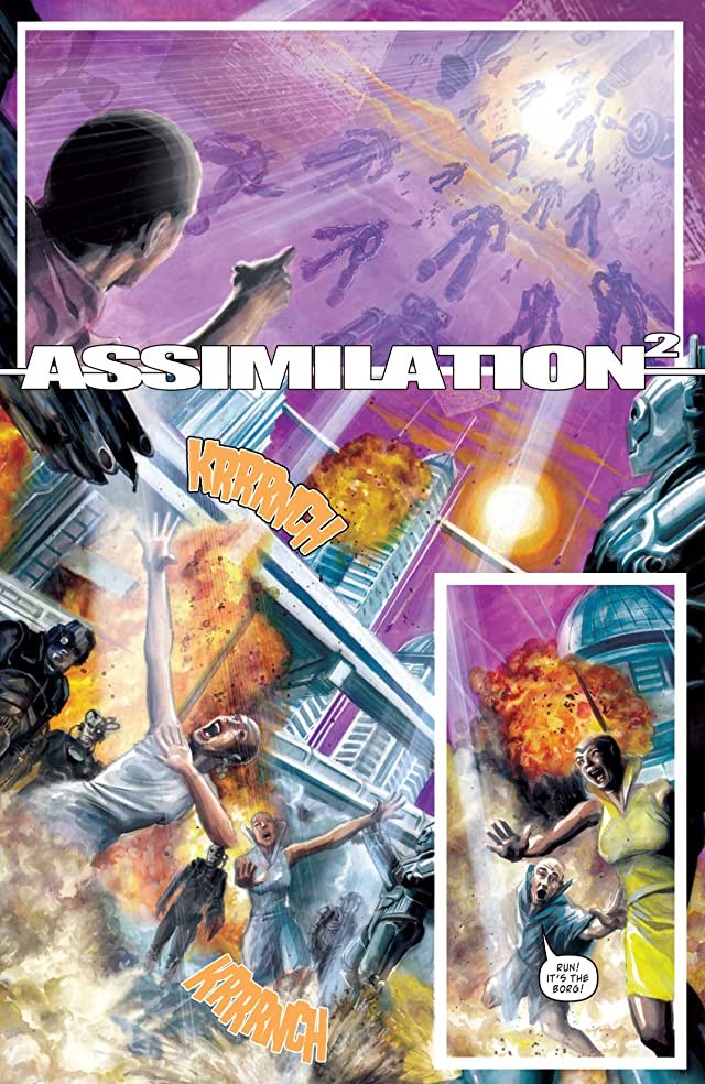 Star Trek: The Next Generation/Doctor Who: Assimilation Vol. 1