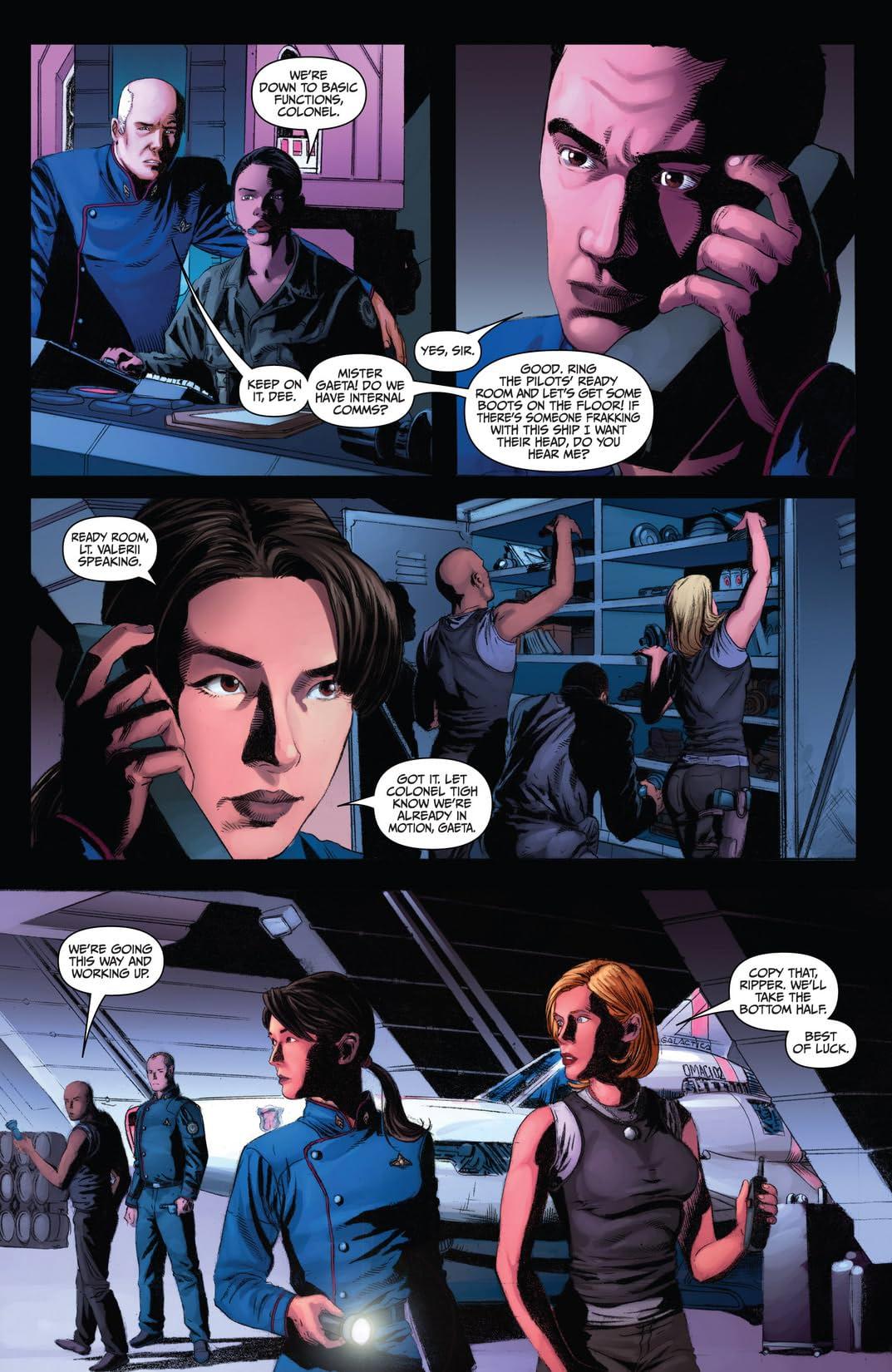 Battlestar Galactica: Season Zero #9
