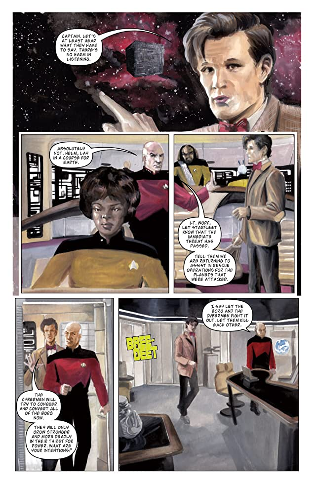 Star Trek: The Next Generation/Doctor Who: Assimilation Vol. 2
