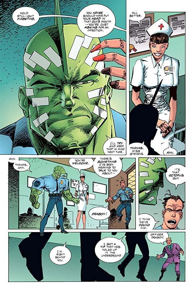 click for super-sized previews of Savage Dragon #13