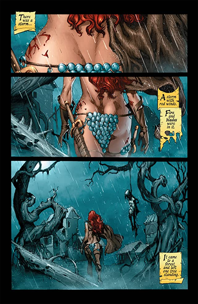 Red Sonja: She-Devil With a Sword #0