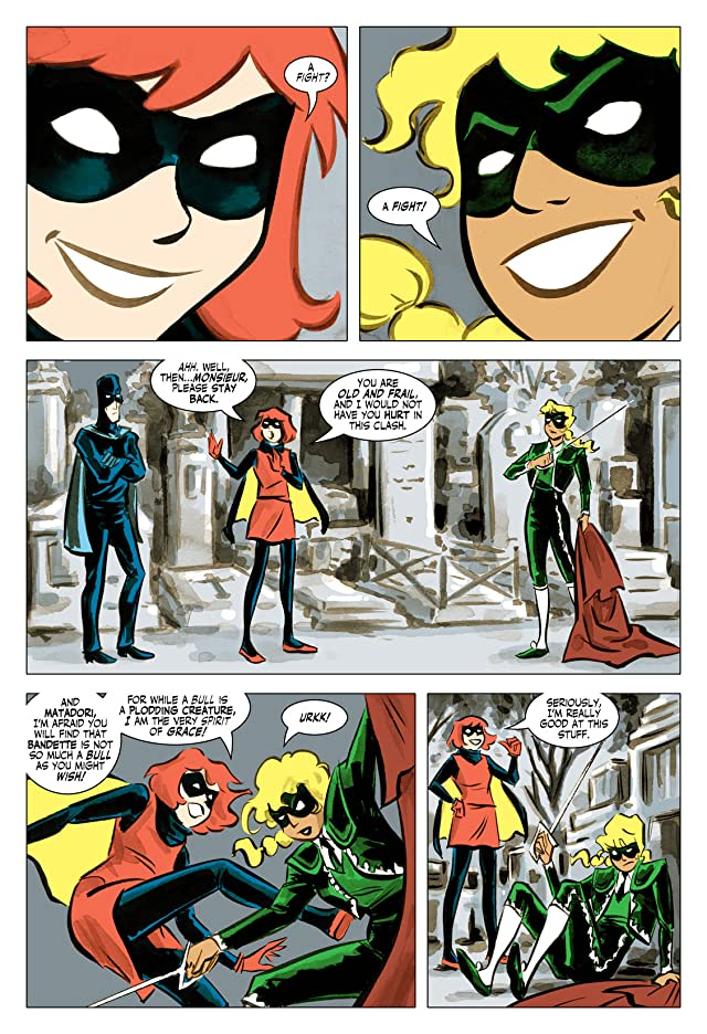 click for super-sized previews of Bandette #4