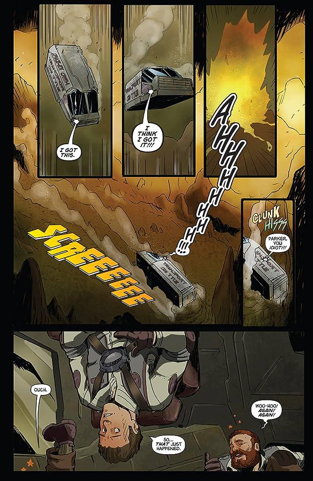 Aliens vs. Parker #2 (of 4)