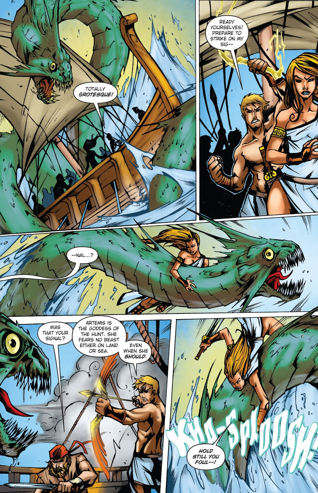 Wrath of the Titans: Force of Trojans #2 (of 4)