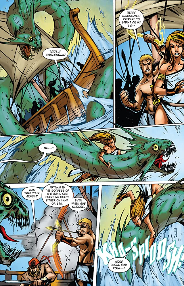 click for super-sized previews of Wrath of the Titans: Force of Trojans #2
