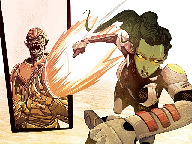 click for super-sized previews of Guardians of the Galaxy Infinite Comic #3