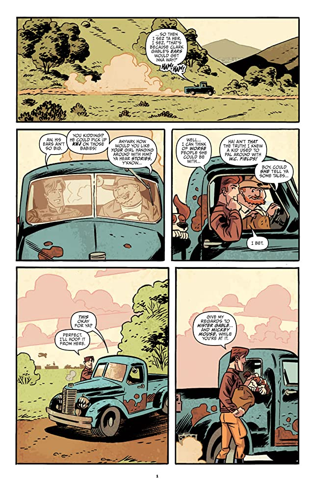 click for super-sized previews of The Rocketeer: Hollywood Horror #3