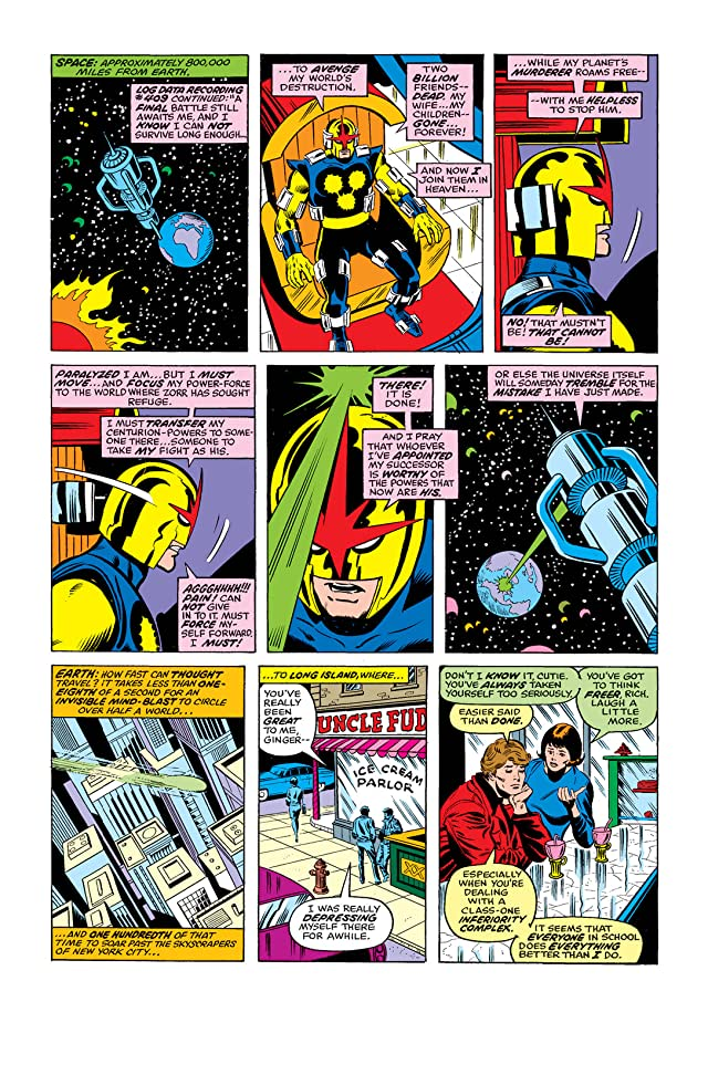 click for super-sized previews of Nova (1976-1978) #1
