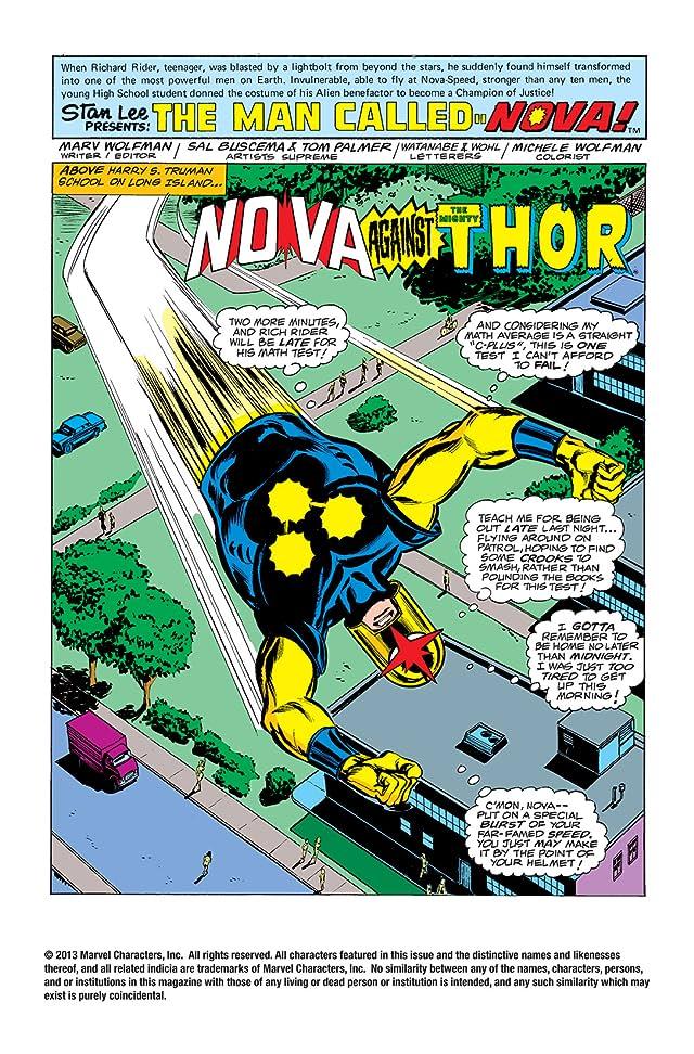 click for super-sized previews of Nova (1976-1978) #4
