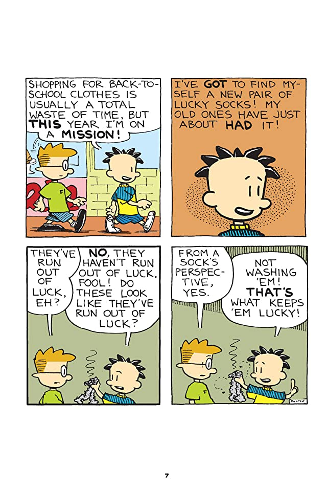 click for super-sized previews of Big Nate Makes the Grade