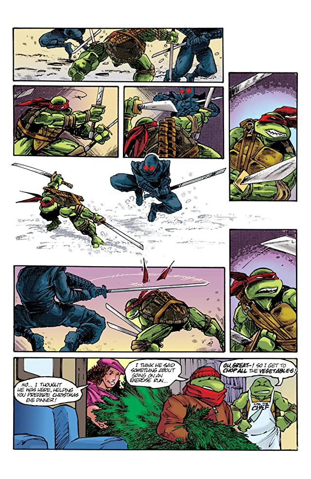 click for super-sized previews of Teenage Mutant Ninja Turtles - Color Classics: Micro Series - Leonardo