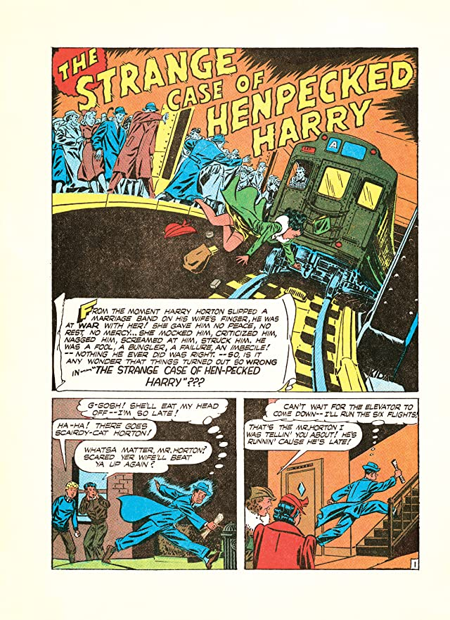 click for super-sized previews of Four Color Fear #1: Forgotten Horror Comics of the 1950s
