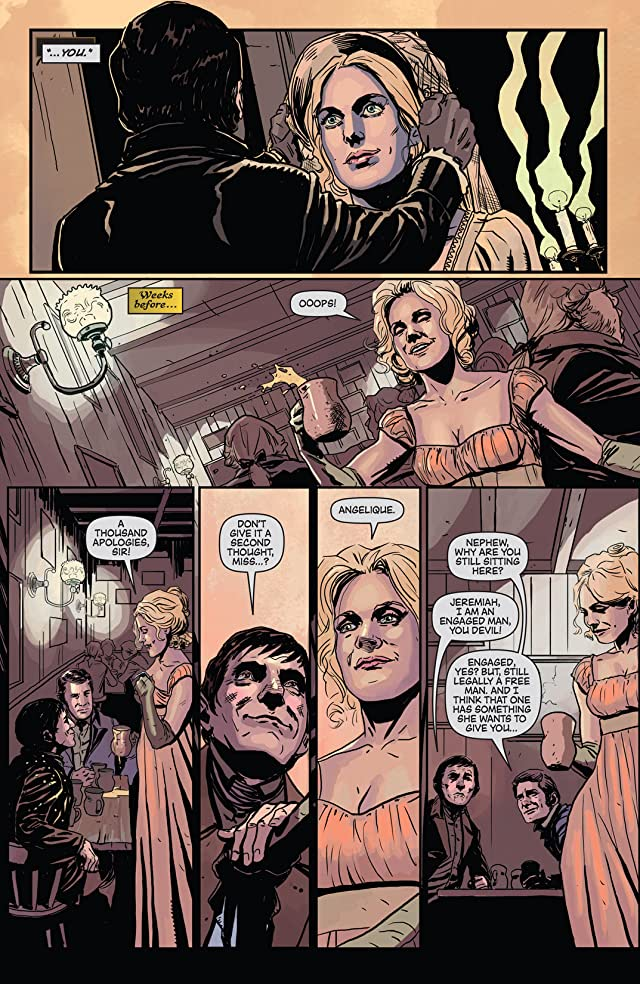 click for super-sized previews of Dark Shadows: Year One #1: Digital Exclusive Edition