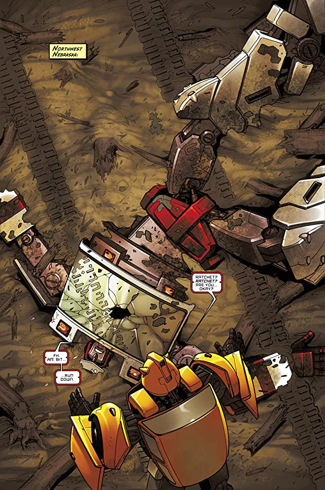 click for super-sized previews of Transformers: Infiltration #5