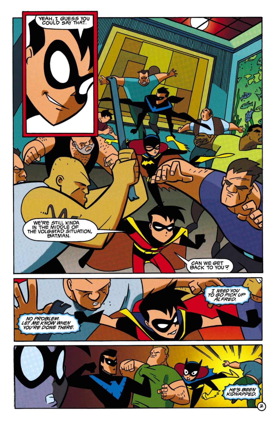 Batman: Gotham Adventures #16